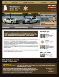 Cherokee County Sheriff - Website, Mobile Site