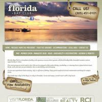 Florida Bay Club - Website