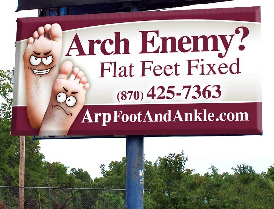 Arp Foot & Ankle Clinic, PA - Billboard