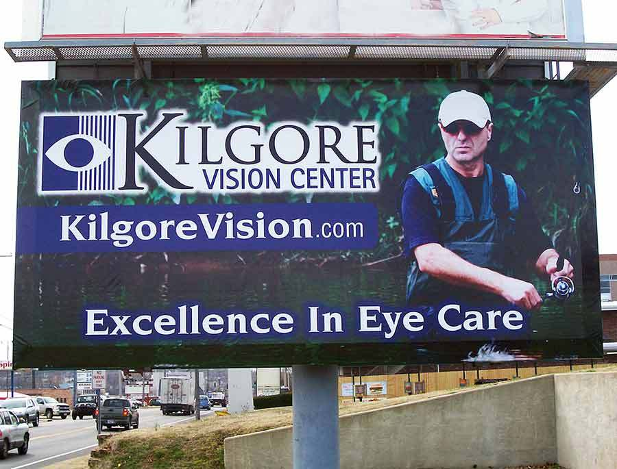 Kilgore Vision Center - Billboard