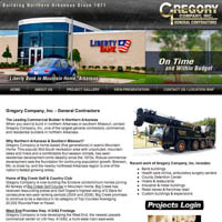 Gregory Company - Website