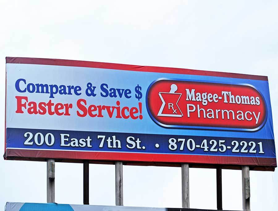 Magee-Thomas Pharmacy - Billboard