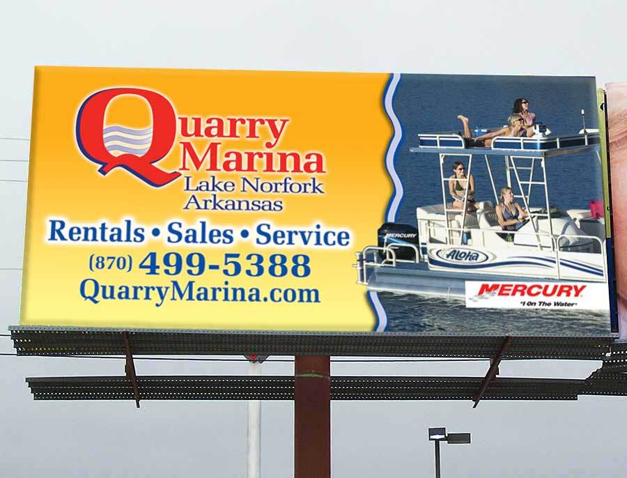 Quarry Marina - Billboard
