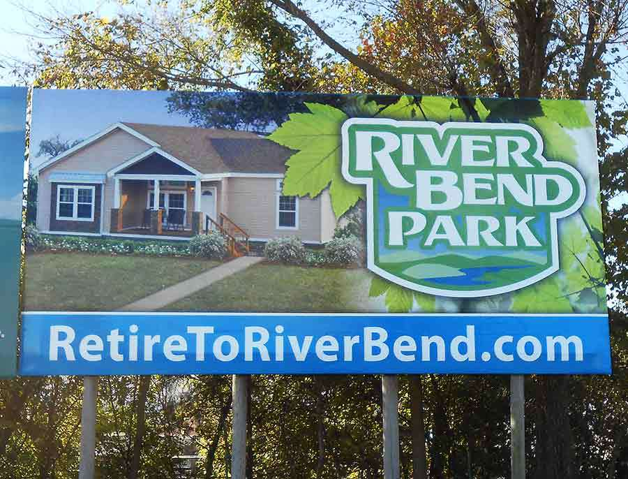 River Bend Park - Billboard