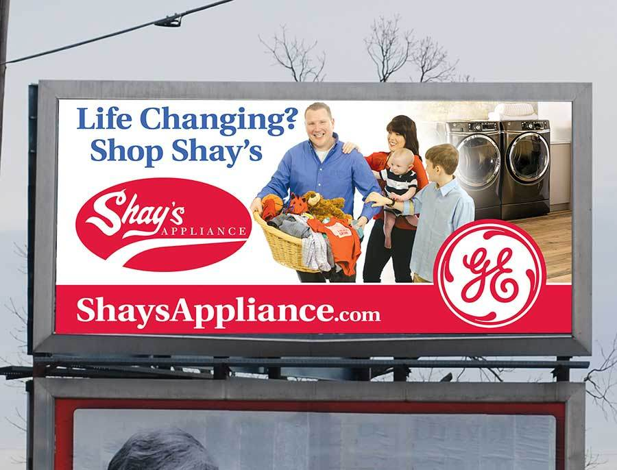 Shay's Appliance - Billboard