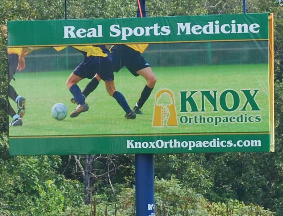 Knox Orthopaedics - Billboard