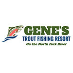 Gene's Trout Fishing Resort - Logo