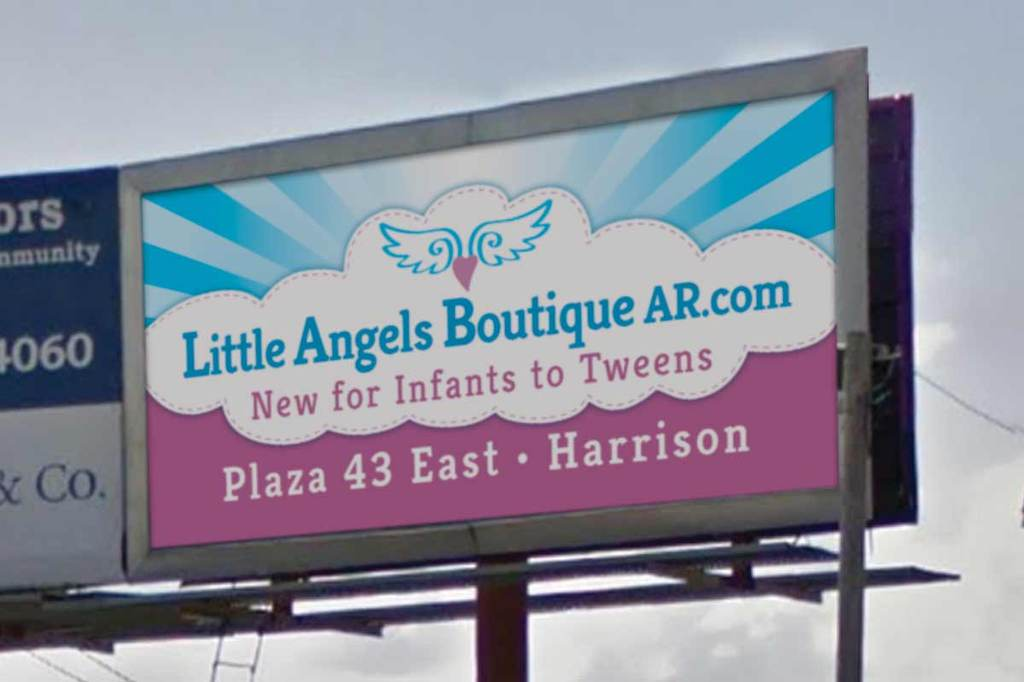 Little Angels Children's Boutique - Billboard