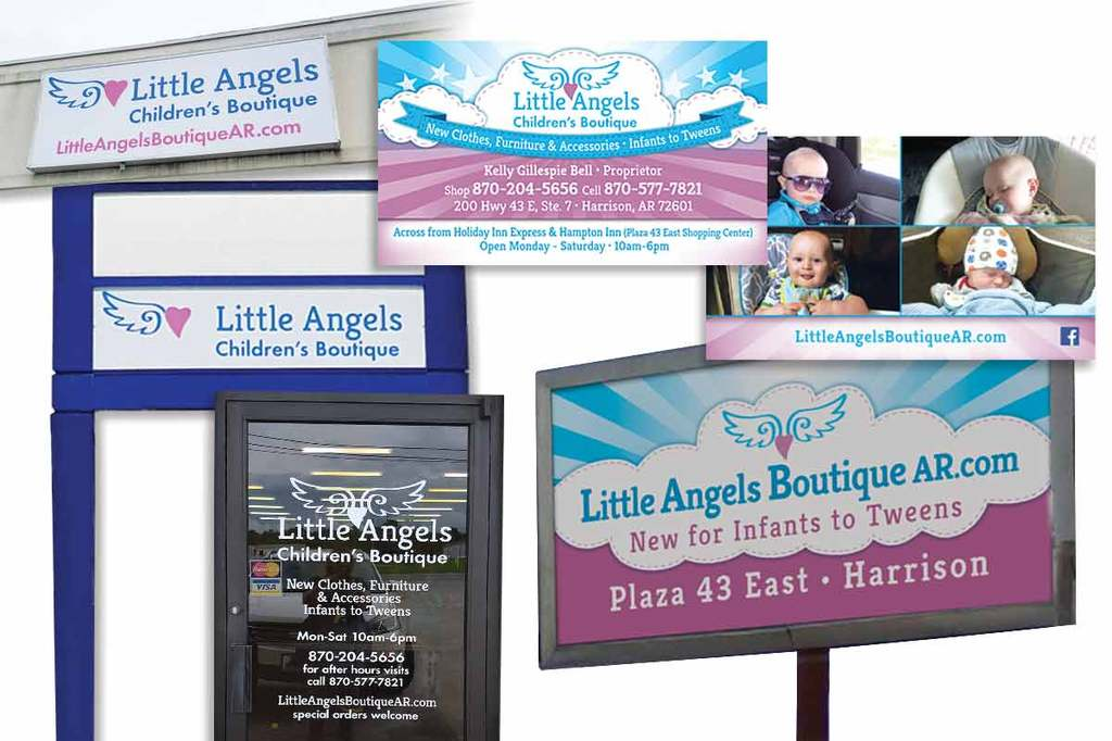 Little Angels Children's Boutique - Branding