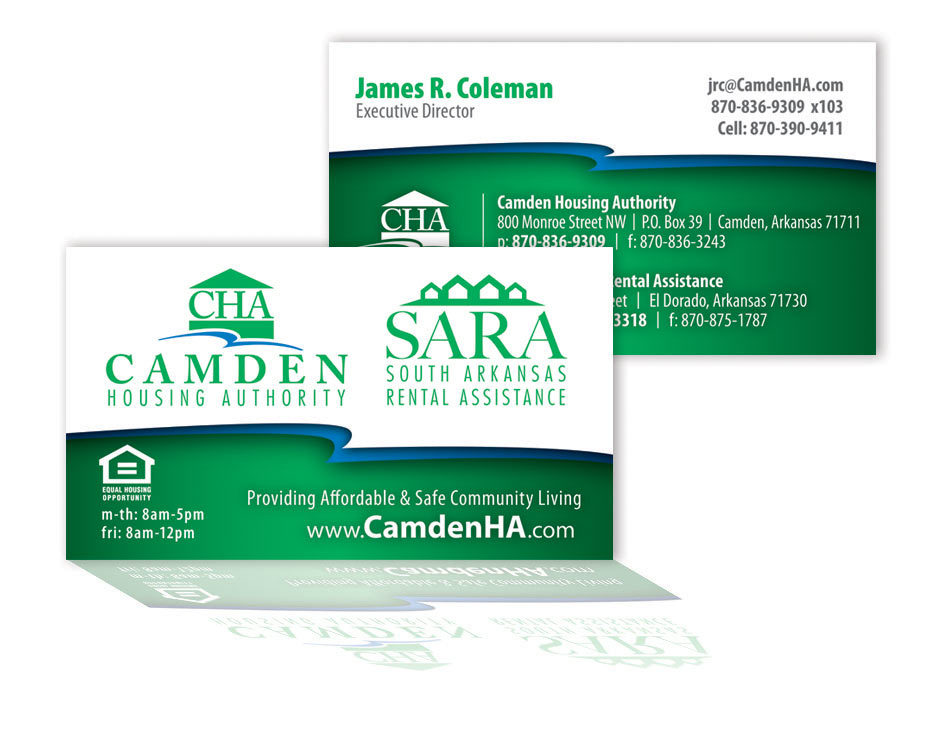 Camden Housing Authority - Business Card