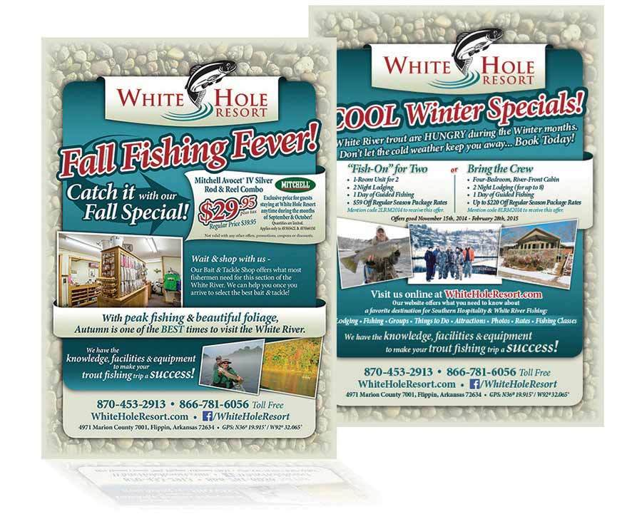 White Hole Resort - Ad