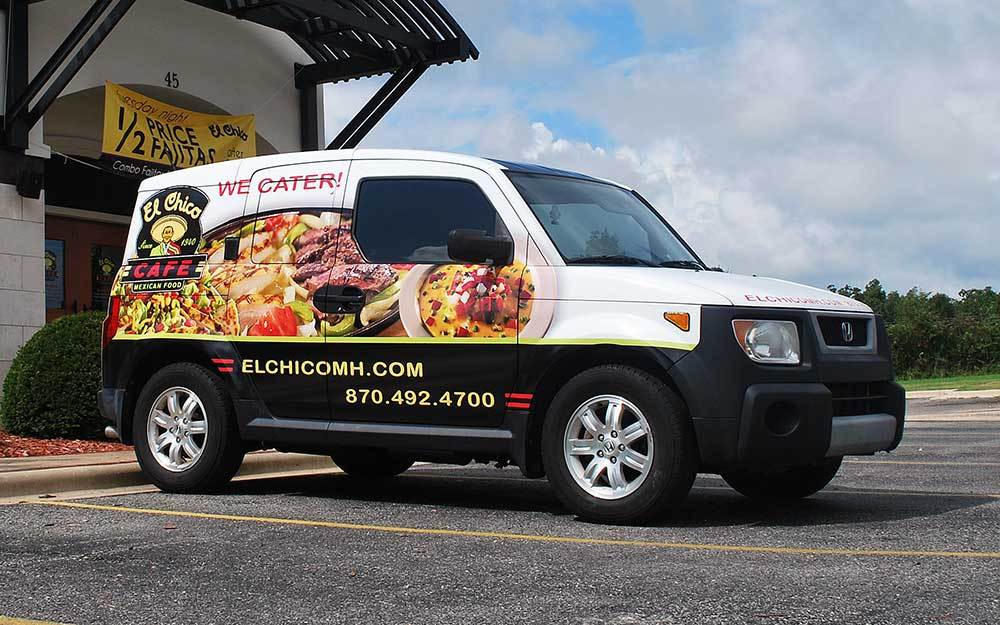 El Chico Cafe - Vehicle Wrap