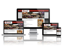 Antler Package & Pizza - Responsive Website