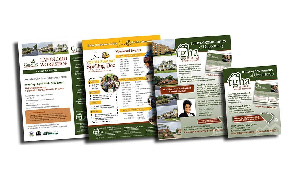 The Greenville Housing Authority - Print Materials