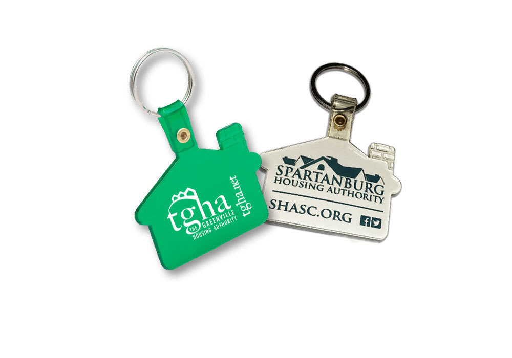 The Greenville Housing Authority & Spartanburg Housing Authority - Key Chains