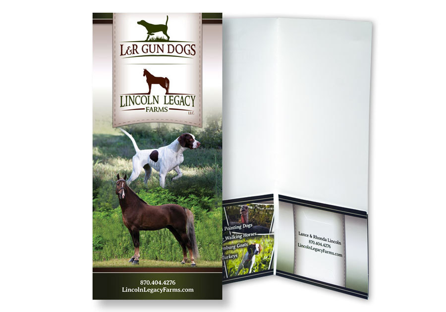 Lincoln Legacy Farms - 4x9 Presentation Folder