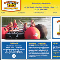 Hwy 125 Marina - Website
