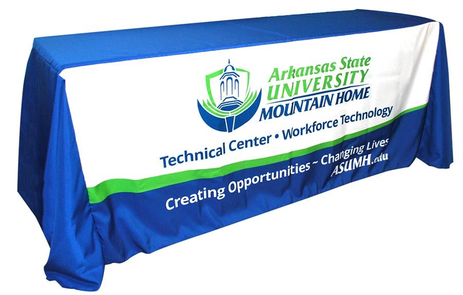 Arkansas State University - Mountain Home - Table throw