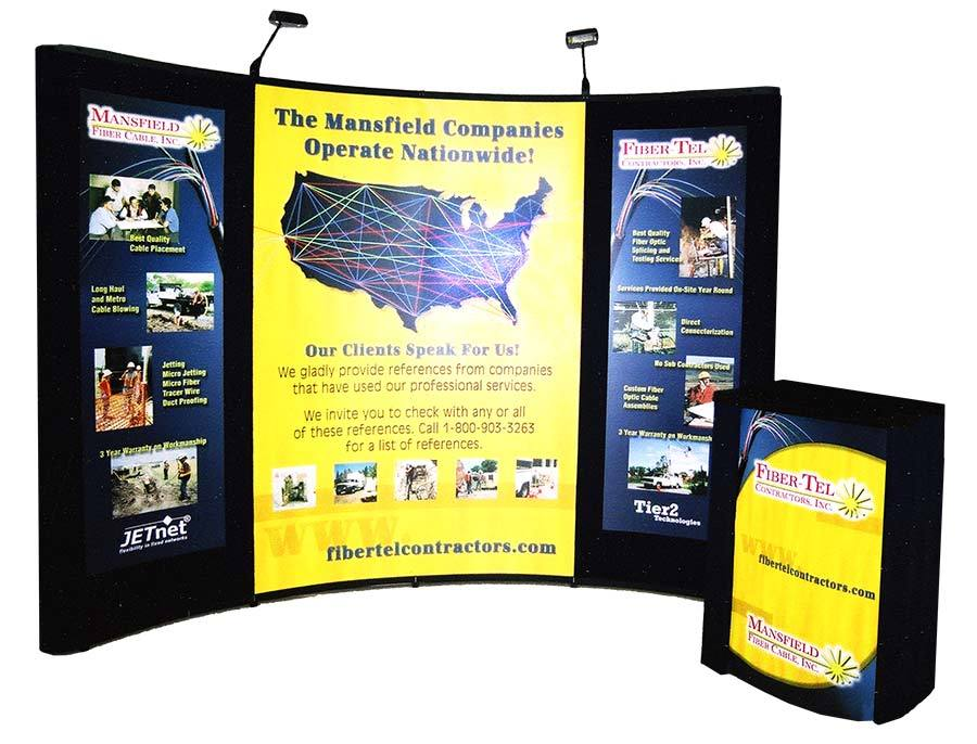 Fiber-Tel Contractors - Exhibit Display