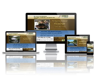 Gene's Trout Fishing Resort - Responsive Website