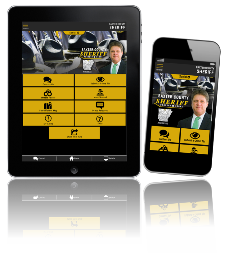 Baxter County Sheriff - Mobile App