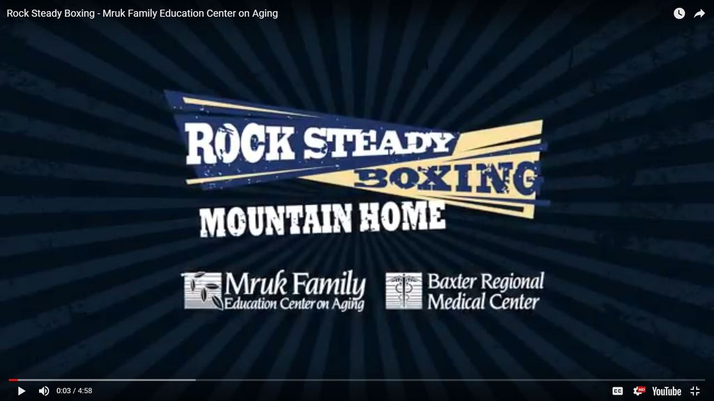 Rock Steady Boxing at BRMC in Mountain Home, Arkansas - Video