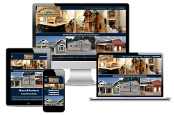 Winrod Brothers Construction  - Responsive Website