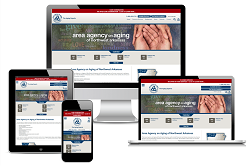 Area Agency on Aging - Responsive Website