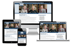 The Strother Law Firm, P.A. - Responsive Website