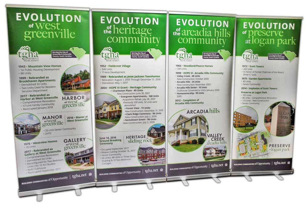 The Greenville Housing Authority - Retractable Banners