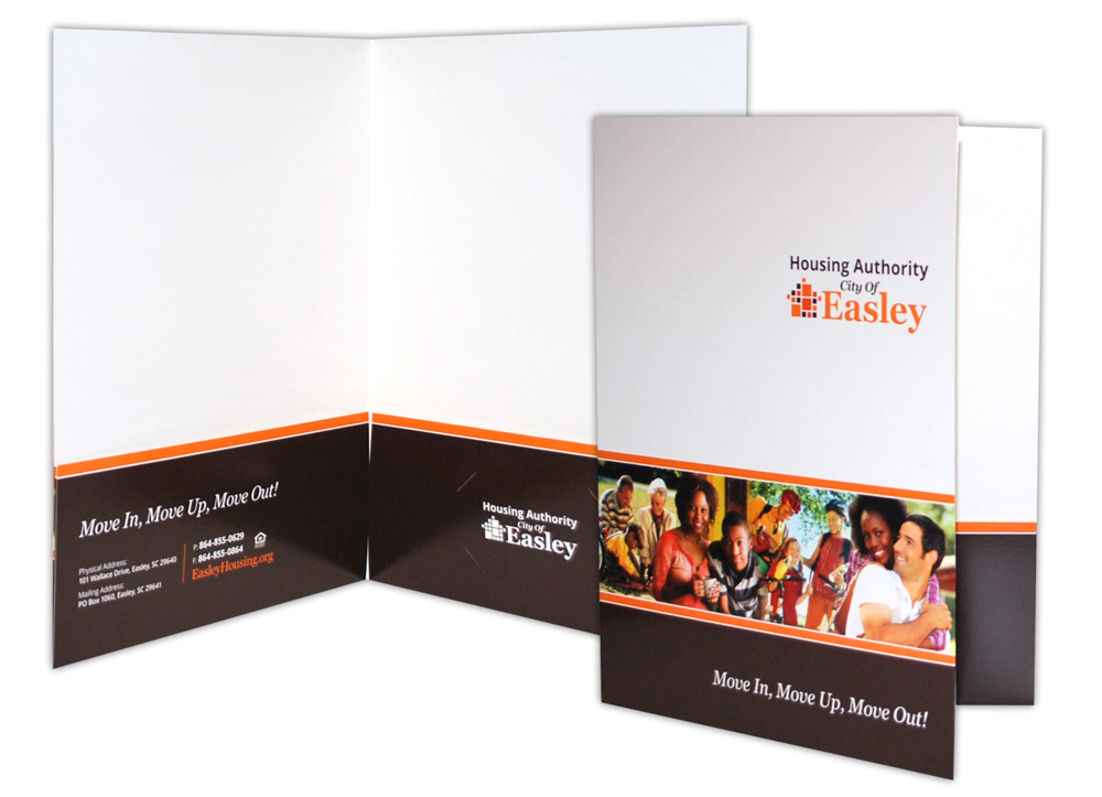 Housing Authority of the City of Easley - Print Materials- Presentation Folders