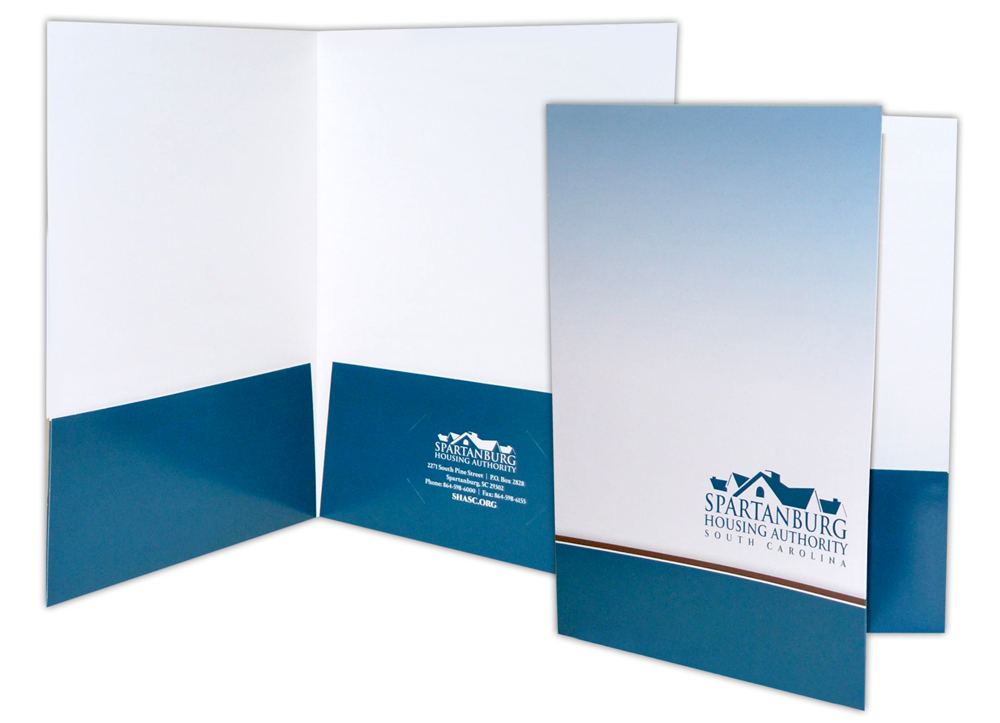 Spartanburg Housing Authority - Print Materials- Presentation Folders