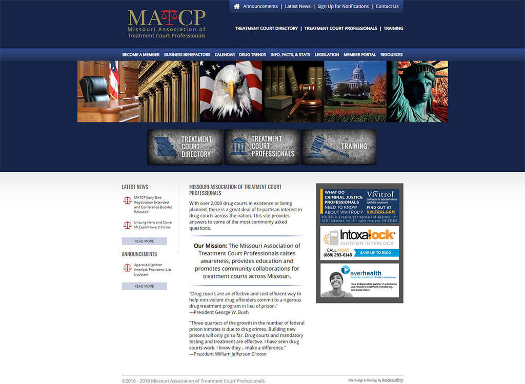 Missouri Association of Treatment Court Professionals - Website