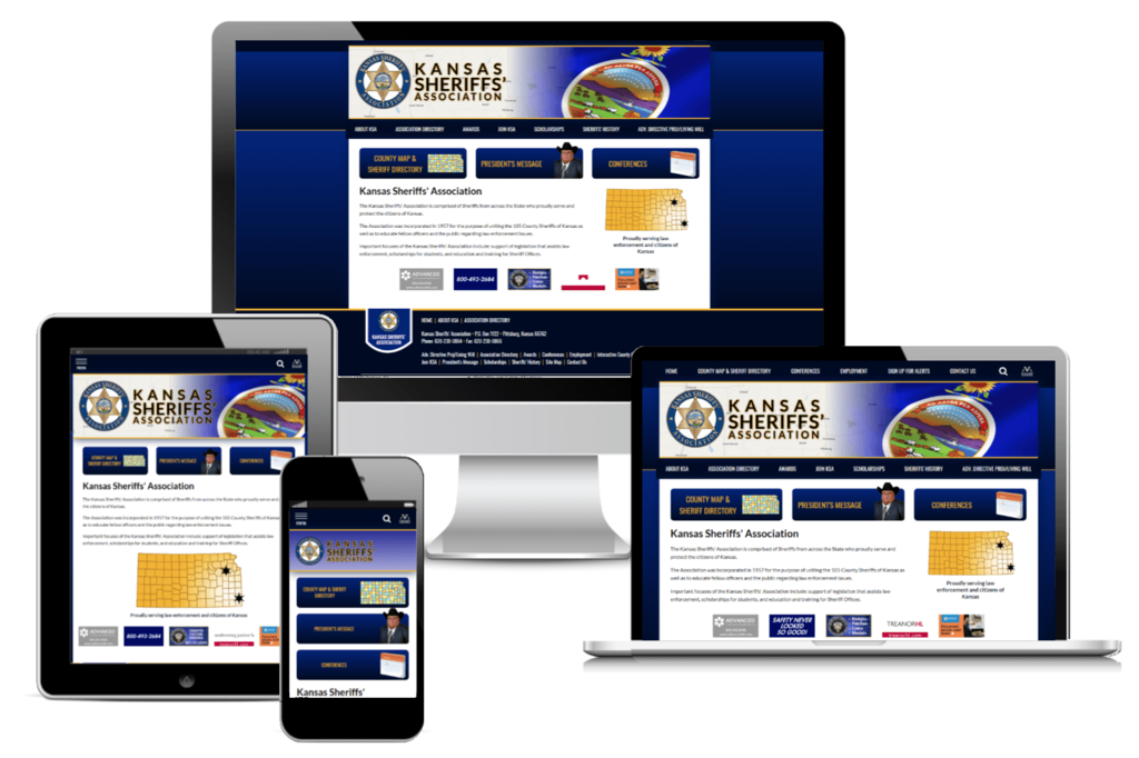 Kansas Sheriffs' Association - Responsive Website