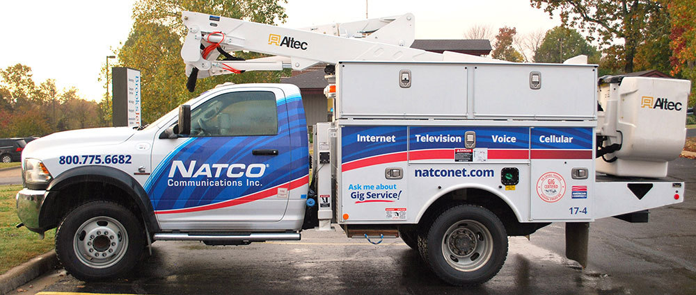 NATCO Communications Inc. - Vehicle Wrap