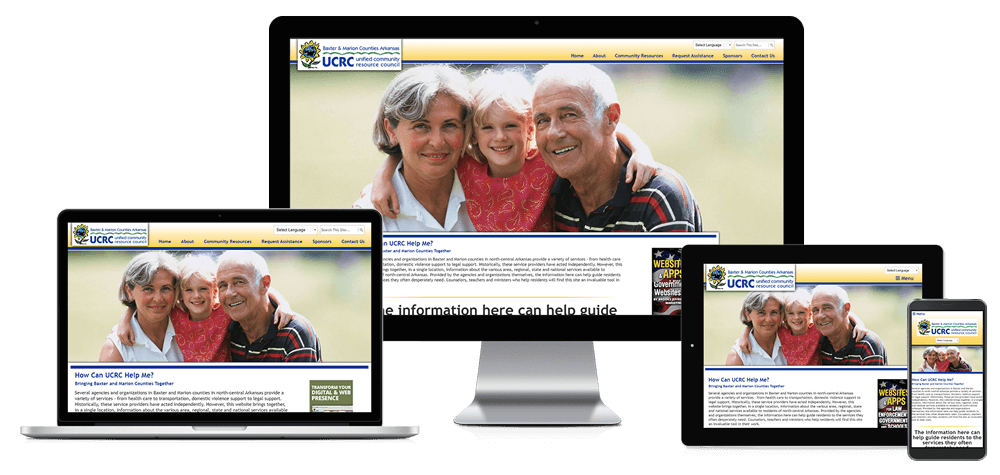 Unified Community Resource Council - Responsive Website