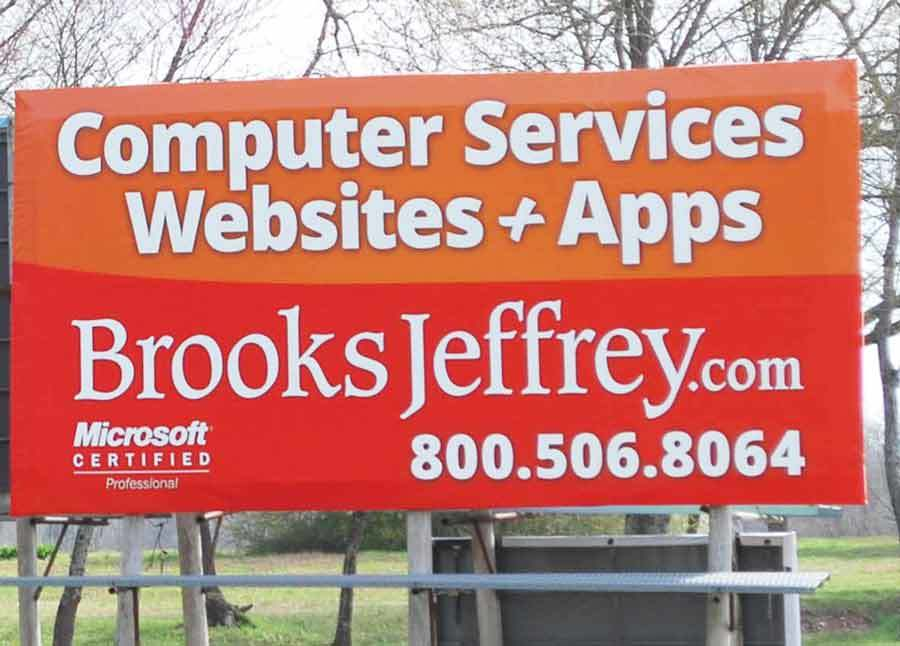 Brooks Jeffrey Marketing & Computer Services - Billboard