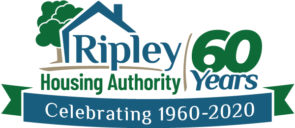 Ripley Housing Authority - 60th Anniversary Logo - Logo