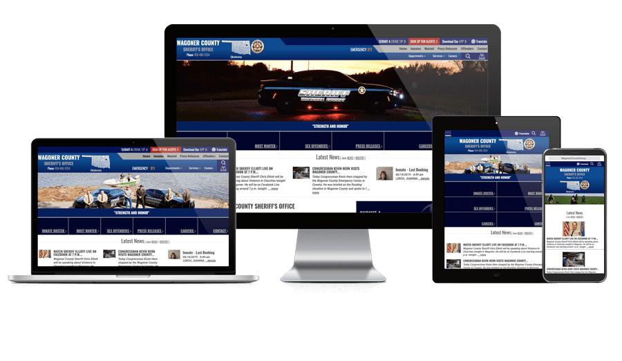 Wagoner County Sheriff's Office, Oklahoma - Responsive Website