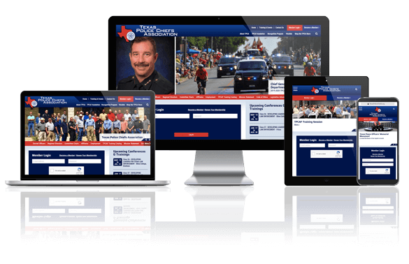 Texas Police Chiefs Association - Responsive Website