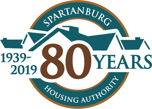 Spartanburg Housing Authority 80th Anniversary Logo - Logo