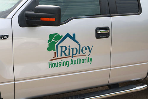 Ripley Housing Authority Vehicle Decals - Vehicle Decal