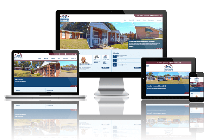 Ozark Housing Community, Alabama - Responsive Website