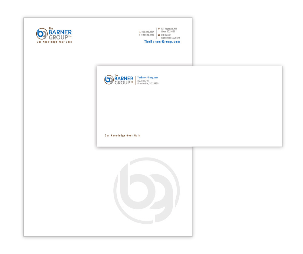 The Barner Group, LLC - Stationery (Letterhead & #10 Envelope)