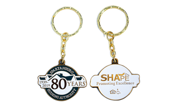 Spartanburg Housing Authority - Challenge Coin/Key Chain
