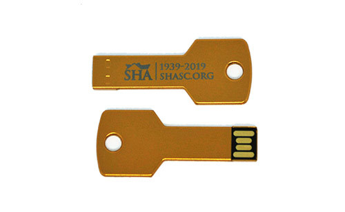Spartanburg Housing Authority - Key-Shaped Flash Drive