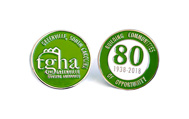 The Greenville Housing Authority - Challenge Coin