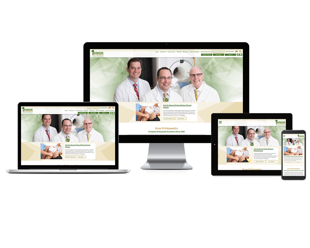 Knox Orthopaedics - Responsive Website