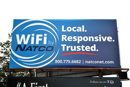 NATCO Communications Inc. - Billboard