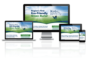 Kirby & Family Funeral & Cremation Services Green Burials - Responsive Website